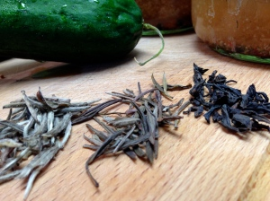 Tea for pickling
