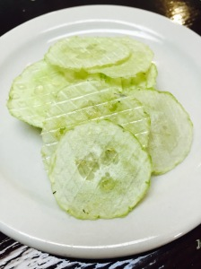 Cucumber Chips