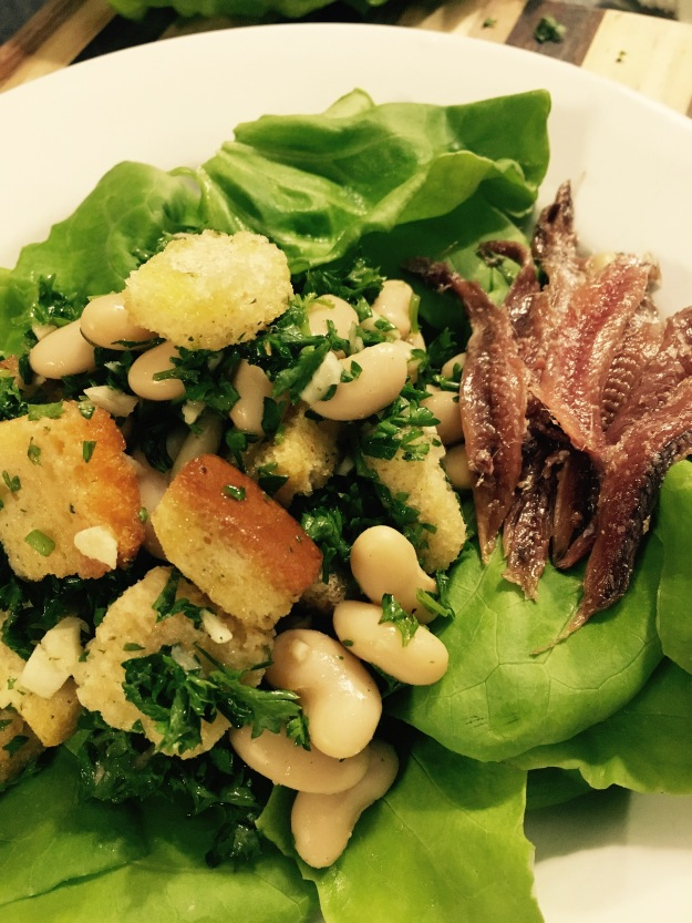 Anchovy Bean Salad